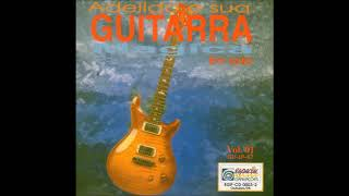 adeildo e sua guitarra balançando a roseira