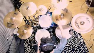"""DEUCE"" - KISS - DRUM COVER (Alive III) BY JONATHAN BUENO"