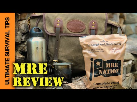 NEW! Best Tasting Survival / Hunting MRE? - REVIEW - Emergency, Bug Out, Hunting, Camping Food.