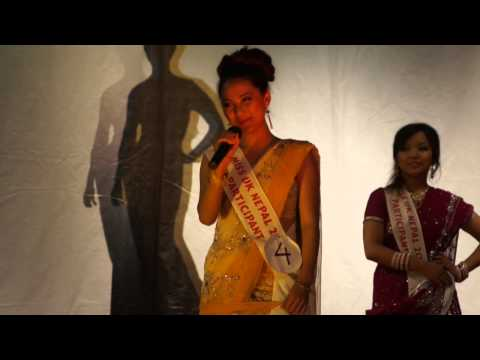 Miss UK Nepal 2012 (Questions And Answer Round)