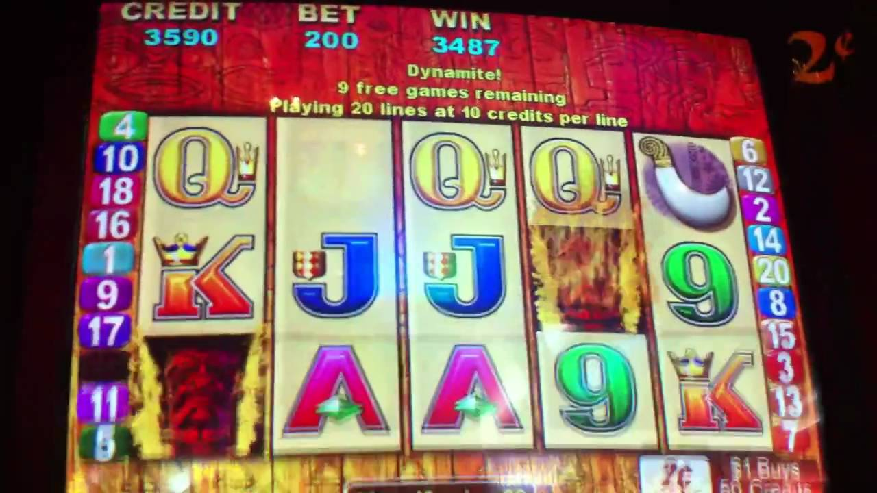 Free Tiki Torch Slot Machine