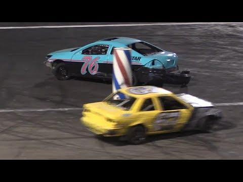 Barber Pole Race - Orange Show Speedway 7/7/18
