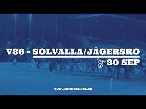 V86 tips Solvalla/Jägersro - 30 september 2020