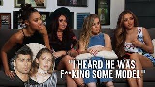 Little Mix shading Zayn Malik and Gigi Hadid for 4 minutes width=