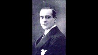 """Francesco Dominici: """"De mon amie, fleur endormie"""", Columbia D 4612 del 1915 (?)"""