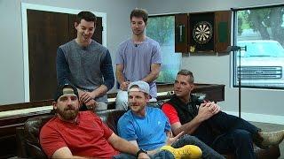 How 'Dude Perfect' Pulls Off Epic Trick Shots | Nightline | ABC News width=