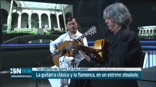 Fusión de la guitarra clásica y flamenca