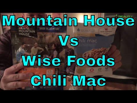 Mountain House vs Wise Taste Test - MSR Cook Set - Camp Chef Explorer Stove