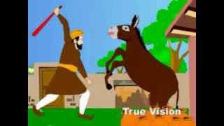 Urdu Cartoon Kahani: Kumhaar Ka Gadha