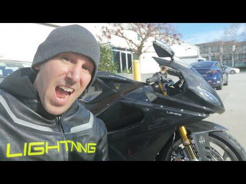 I got to ride a Lightning LS-218!!