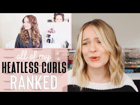Every heatless curls I've EVER tried RANKED – Kayley Melissa