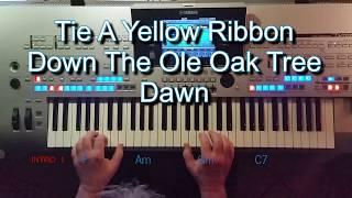 Tie A Yellow Ribbon - Tony Orlando & Dawn, Cover, eingespielt auf Tyros 4