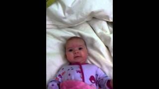 Baby Eva Dancing to Kelly Andrew - Beyond The Stars