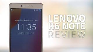 Lenovo K6 Note Full Review Video