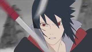 Sasuke vs Killer Bee FULL FIGHT [60 FPS] (English subbed)