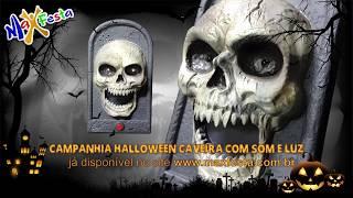 Campainha do Terror Halloween - Caveira