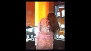Sana khan big butt ass exposed width=