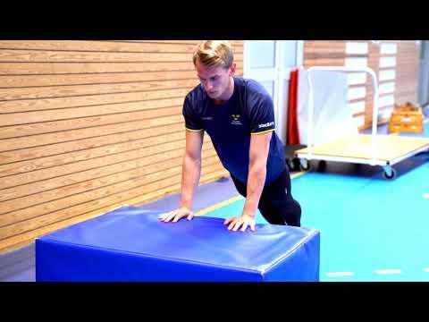 Gymnastiskt Basträningsprogram 11 Armhävning