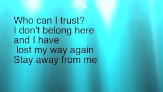 Stay away- Falling In Reverse lyric video
