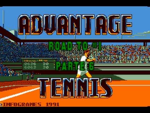 Road to #1: Advantage Tennis Ep. 6 (1991) - PC - Bajando de las nubes