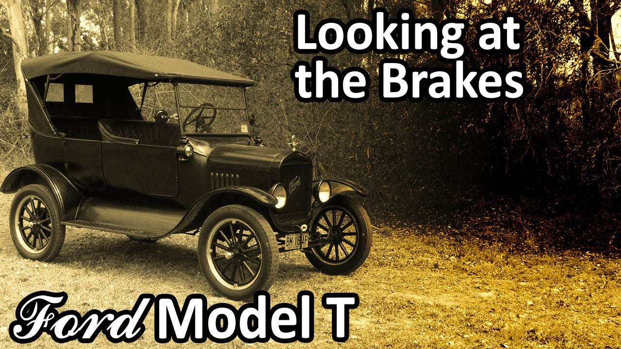 My 1925 Ford Model T - Looking at the Brakes