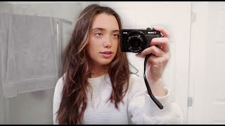 how i get ready for school (morning routine vlog style)