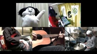[HD]Mahou Shoujo Lyrical Nanoha A's OP [ETERNAL BLAZE] Band cover