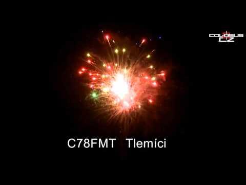 Pyrotechnika Kompakt 78 ran Tlemíci multikalibr