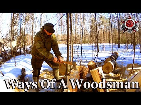 Making Axe Handles And How To Cook On A Camp Fire Without Soot On Your Pots 2019
