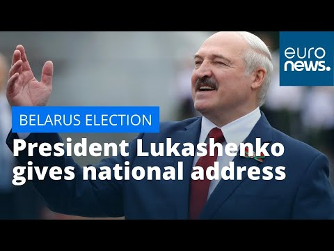 Belarus election: President Lukashenko gives national address ahead of Sunday's vote