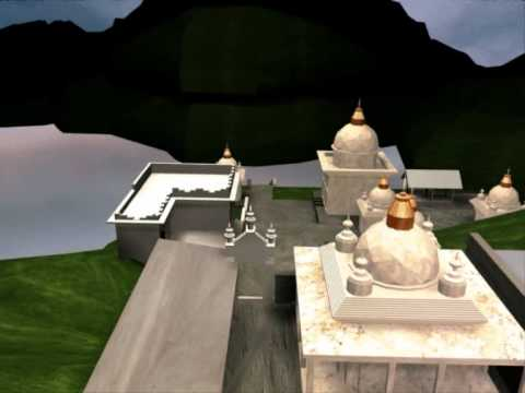 Hindu Religious Destination Bahrara Chetra Nepal animated in 3ds max walkthrough