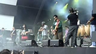 Nação Zumbi e Tulipa Ruiz - Tuareg  Abertura do Show no @Rock in Rio
