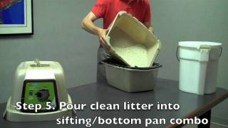 Van Ness Sifting Enclosed Pan Demonstration Youtube