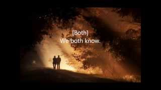 Colbie Caillat ft. Gavin Degraw  We Both Know with HD lyrics