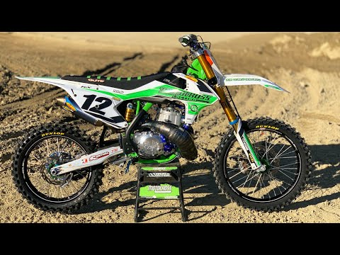Extreme custom built project KTX500E 2 Stroke - Motocross Action Magazine