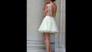 para mulheres - Vestido de noiva para casamento civil