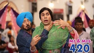 Double Role - Latest Punjabi Comedy Scene 2014 - Lokdhun Punjabi