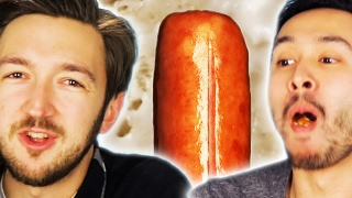 People Eat Hot Dogs While Learning Gross Facts About Them width=