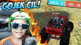 BOCIL KELILING JADI GOJEK KILL SETENGAH PLAYER DALAM 1 GAME AUTO ROTO!  - FREE FIRE