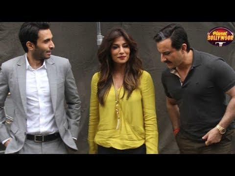 Saif Ali Khan Gets Snapped On 'Baazaar' Set With Chitrangada Singh | Exclusive