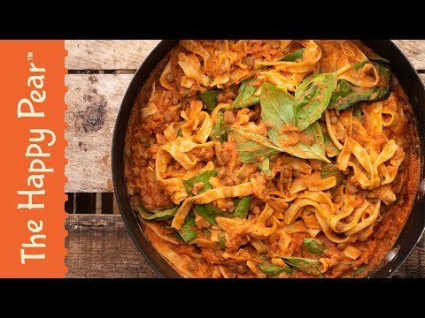 High Protein Pasta VEGAN | The Happy Pear
