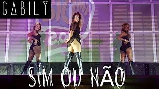 Gabily :: Sim Ou Não / Cover Anitta ( Ao Vivo Na Tradição - Equipe Batidão- FM O DIA )