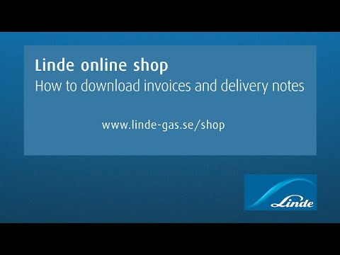 AGA online shop: How to download invoices and delivery notes