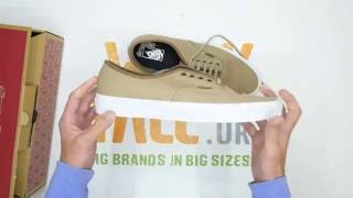 Vans Authentic - Silver / Mink / True White -  Walktall | Unboxing | Hands on