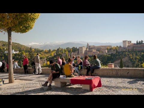 Take the Alhambra Tour, Granada, Andalusia - YouTube