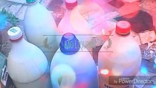 Sabão liquido feito no tanquinho