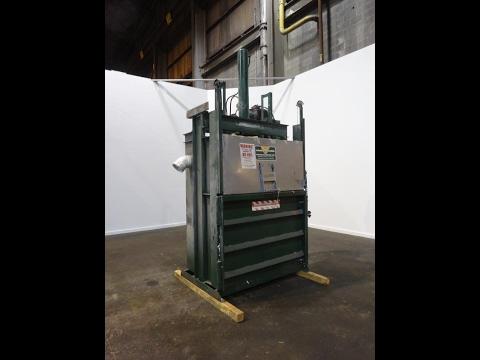 Used- Load King Vertical Baler, Model VB-6036-WL, - stock # 48638001