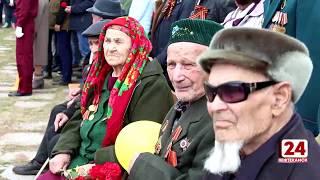 В сквере Борцам революции прошёл праздничный митинг