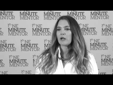 Hearst One Minute Mentor: Drew Barrymore on Startups