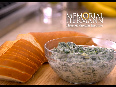 Quick & Healthy Spinach Dip